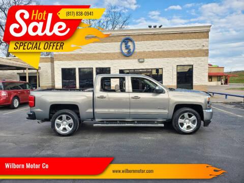 2017 Chevrolet Silverado 1500 for sale at Wilborn Motor Co in Fort Worth TX