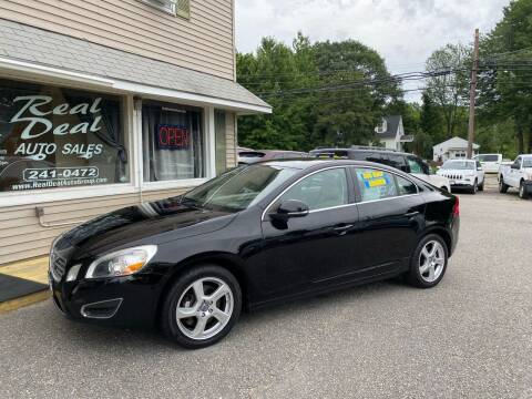 2013 Volvo S60 for sale at Real Deal Auto Sales in Auburn ME