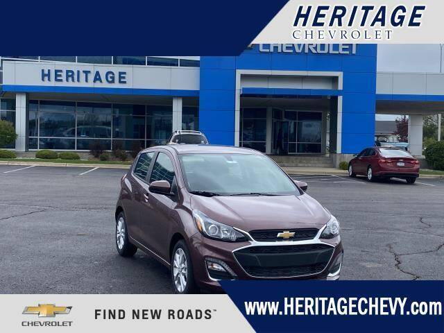 2021 Chevrolet Spark for sale at HERITAGE CHEVROLET INC in Creek MI