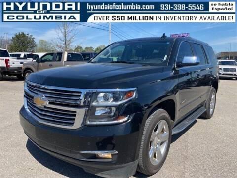2017 Chevrolet Tahoe for sale at Hyundai of Columbia Con Alvaro in Columbia TN