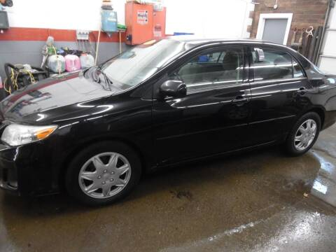2013 Toyota Corolla for sale at East Barre Auto Sales, LLC in East Barre VT