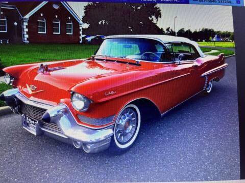 1957 Cadillac DeVille for sale at Black Tie Classics in Stratford NJ