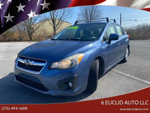 2012 Subaru Impreza for sale at 6 Euclid Auto LLC in Bristol VA
