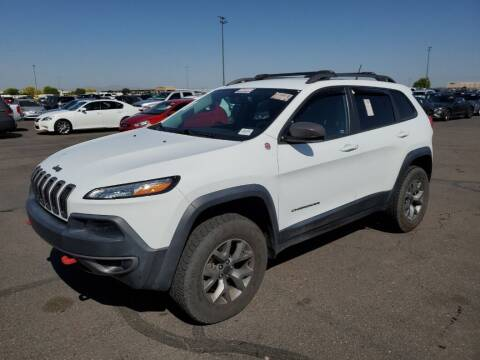2015 Jeep Cherokee for sale at A.I. Monroe Auto Sales in Bountiful UT