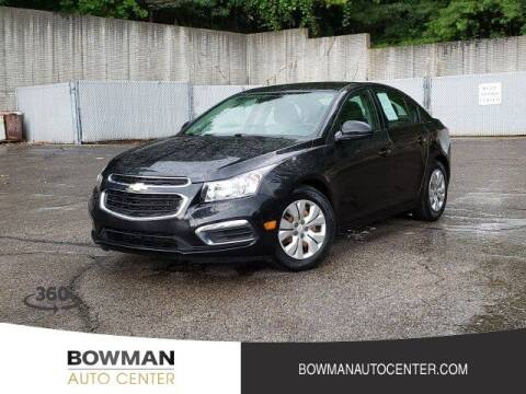 2016 Chevrolet Cruze Limited for sale at Bowman Auto Center in Clarkston MI