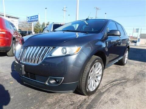 2014 Lincoln MKX for sale at D & T Auto Sales, Inc. in Henderson KY
