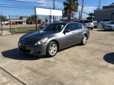 2011 Infiniti G25 Sedan for sale at Car City Autoplex in Metairie LA