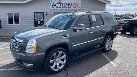 2011 Cadillac Escalade for sale at Action Motor Sales in Gaylord MI