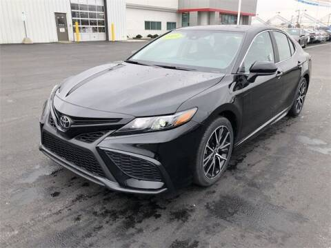 2021 Toyota Camry for sale at White's Honda Toyota of Lima in Lima OH