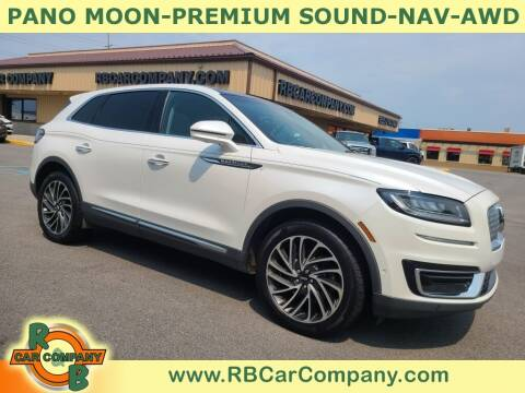 2019 Lincoln Nautilus for sale at R & B Car Company in South Bend IN
