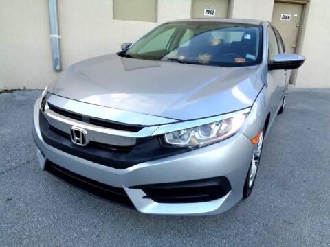 2016 Honda Civic for sale at Selective Motor Cars in Miami FL