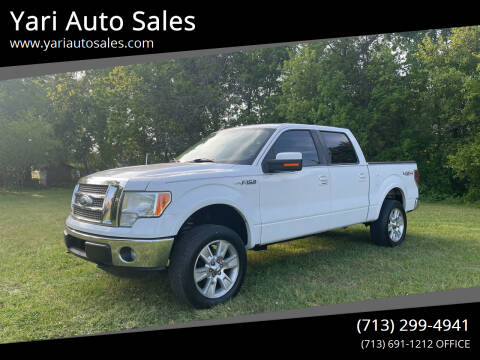 2011 Ford F-150 for sale at Yari Auto Sales in Houston TX