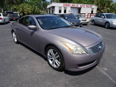 2008 Infiniti G37 for sale at DONNY MILLS AUTO SALES in Largo FL