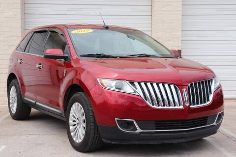 2013 Lincoln MKX for sale at MG Motors in Tucson AZ