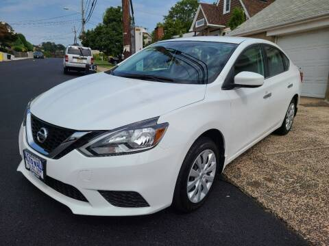 2017 Nissan Sentra for sale at Express Auto Mall in Totowa NJ