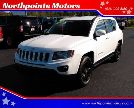 2015 Jeep Compass for sale at Northpointe Motors in Kalkaska MI