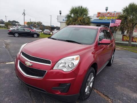 2014 Chevrolet Equinox for sale at Sun Coast City Auto Sales in Mobile AL