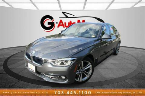 2018 BMW 3 Series for sale at Guarantee Automaxx in Stafford VA