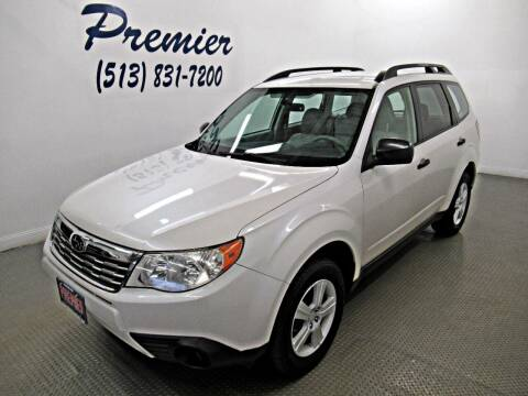 2010 Subaru Forester for sale at Premier Automotive Group in Milford OH