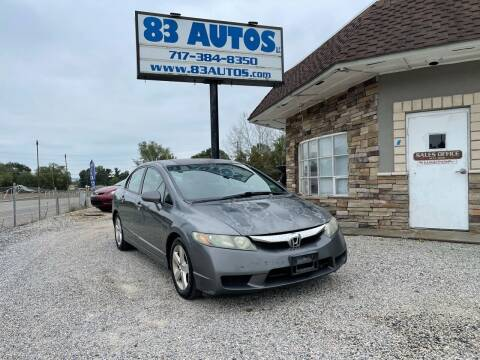2010 Honda Civic for sale at 83 Autos in York PA