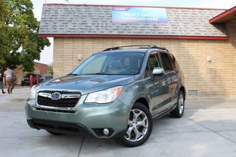 2015 Subaru Forester for sale at ALIC MOTORS in Boise ID