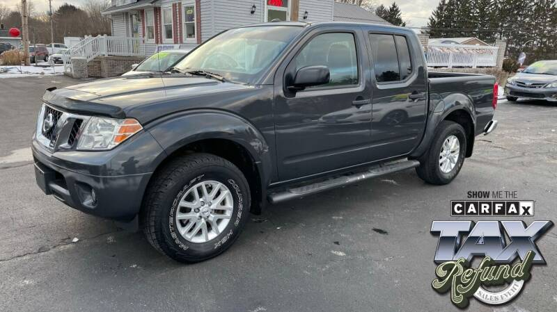 2015 Nissan Frontier for sale at RBT Automotive LLC in Perry OH