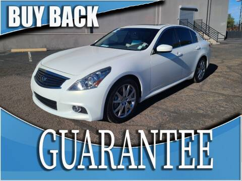 2012 Infiniti G37 Sedan for sale at Reliable Auto Sales in Las Vegas NV