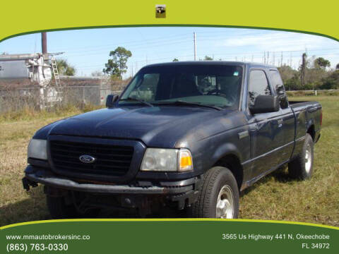 2008 Ford Ranger for sale at M & M AUTO BROKERS INC in Okeechobee FL