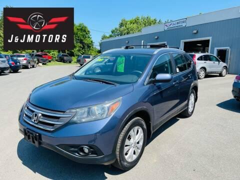 2012 Honda CR-V for sale at J & J MOTORS in New Milford CT