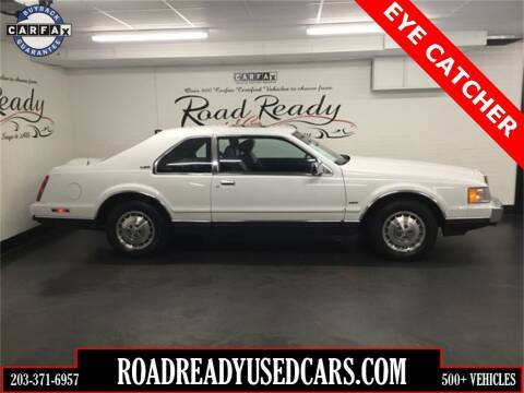 1986 Lincoln Mark VII for sale at Road Ready Used Cars in Ansonia CT