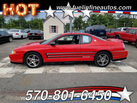 2004 Chevrolet Monte Carlo for sale at FUELIN FINE AUTO SALES INC in Saylorsburg PA