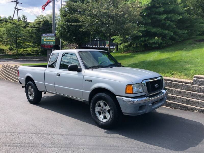 2004 Ford Ranger for sale at 4 Below Auto Sales in Willow Grove PA