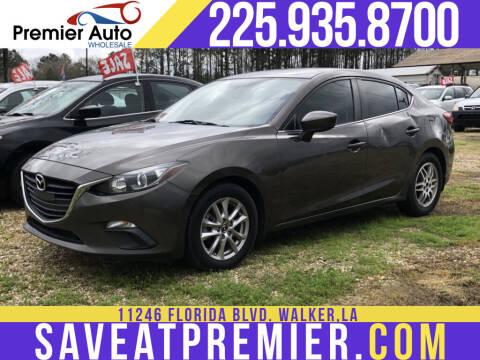 2014 Mazda MAZDA3 for sale at Premier Auto Wholesale in Baton Rouge LA