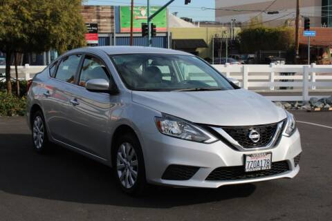2017 Nissan Sentra for sale at Good Vibes Auto Sales in North Hollywood CA