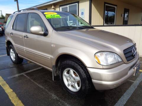 2001 Mercedes-Benz M-Class for sale at BBL Auto Sales in Yakima WA