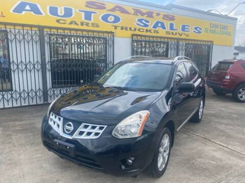 2011 Nissan Rogue for sale at Sam's Auto Sales in Houston TX
