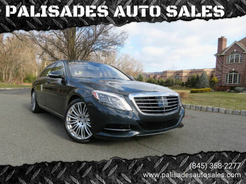 2015 Mercedes-Benz S-Class for sale at PALISADES AUTO SALES in Nyack NY