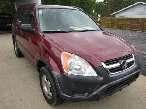 2002 Honda CR-V for sale at Cicero Motors in Cicero IN