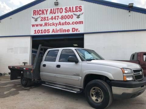 2007 Chevrolet Silverado 2500HD Classic for sale at Ricky Auto Sales in Houston TX