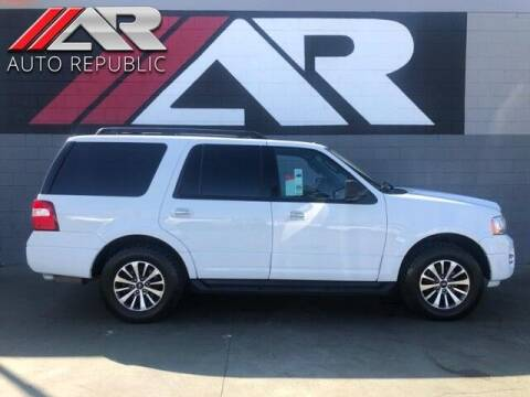 2016 Ford Expedition for sale at Auto Republic Fullerton in Fullerton CA