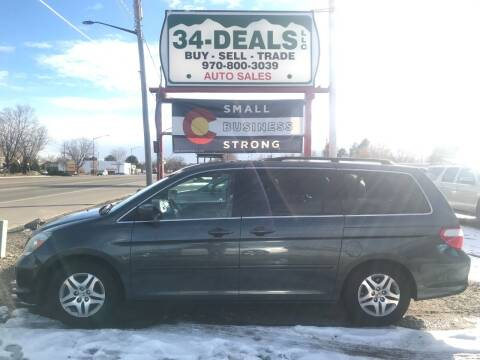 2006 Honda Odyssey for sale at 34 Deals LLC in Loveland CO