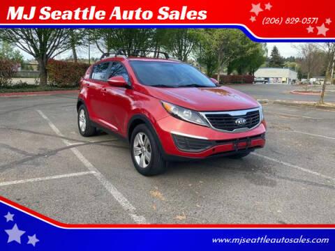 2013 Kia Sportage for sale at MJ Seattle Auto Sales in Kent WA