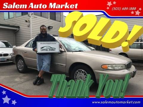 2002 Buick Century for sale at Salem Auto Market in Salem OR
