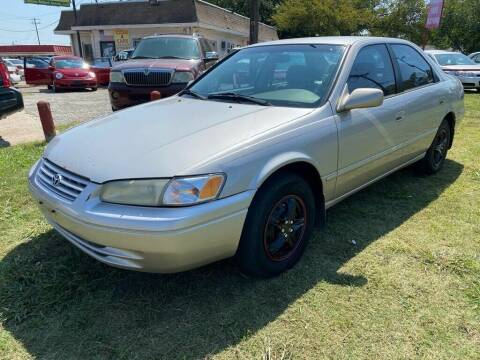 1998 Toyota Camry for sale at Texas Select Autos LLC in Mckinney TX