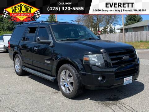 2007 Ford Expedition for sale at West Coast Auto Works in Edmonds WA