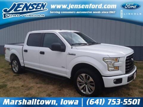 2017 Ford F-150 for sale at JENSEN FORD LINCOLN MERCURY in Marshalltown IA