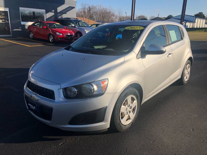 2015 Chevrolet Sonic for sale at Eagle Auto LLC in Green Bay WI