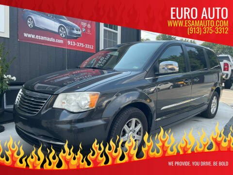 2012 Chrysler Town and Country for sale at Euro Auto in Overland Park KS