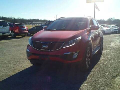 2013 Kia Sportage for sale at Global Vehicles,Inc in Irving TX