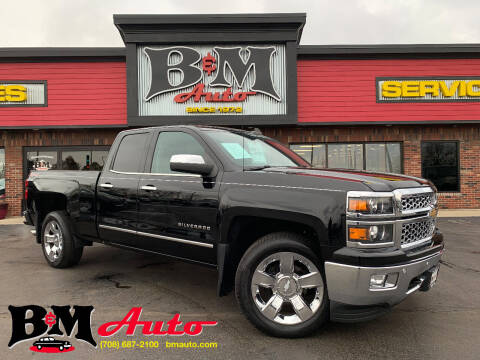 2015 Chevrolet Silverado 1500 for sale at B & M Auto Sales Inc. in Oak Forest IL